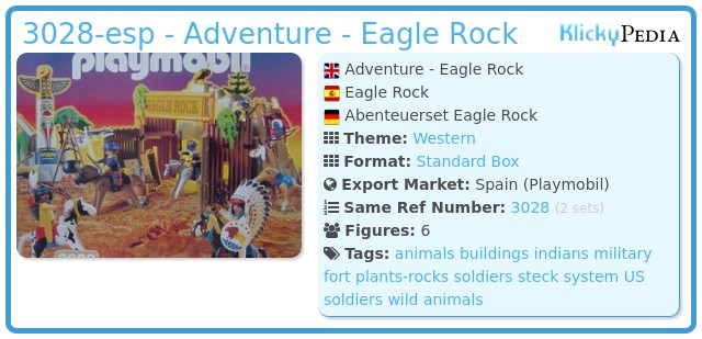 Playmobil 3028-esp - Adventure - Eagle Rock