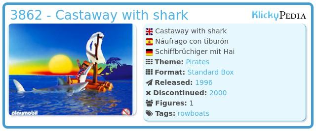 Playmobil 3862 - castaway with shark