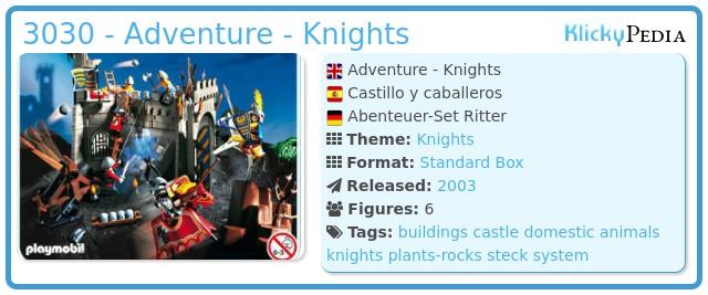Playmobil 3030-esp - Adventure - Knights
