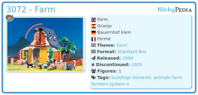 Playmobil 3072 - Farm