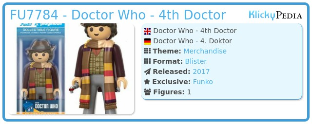 Playmobil FU7784 - Doctor Who - 4th Doctor