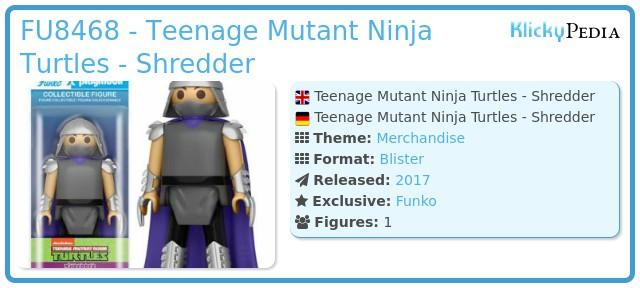 Playmobil FU8468 - Teenage Mutant Ninja Turtles - Shredder