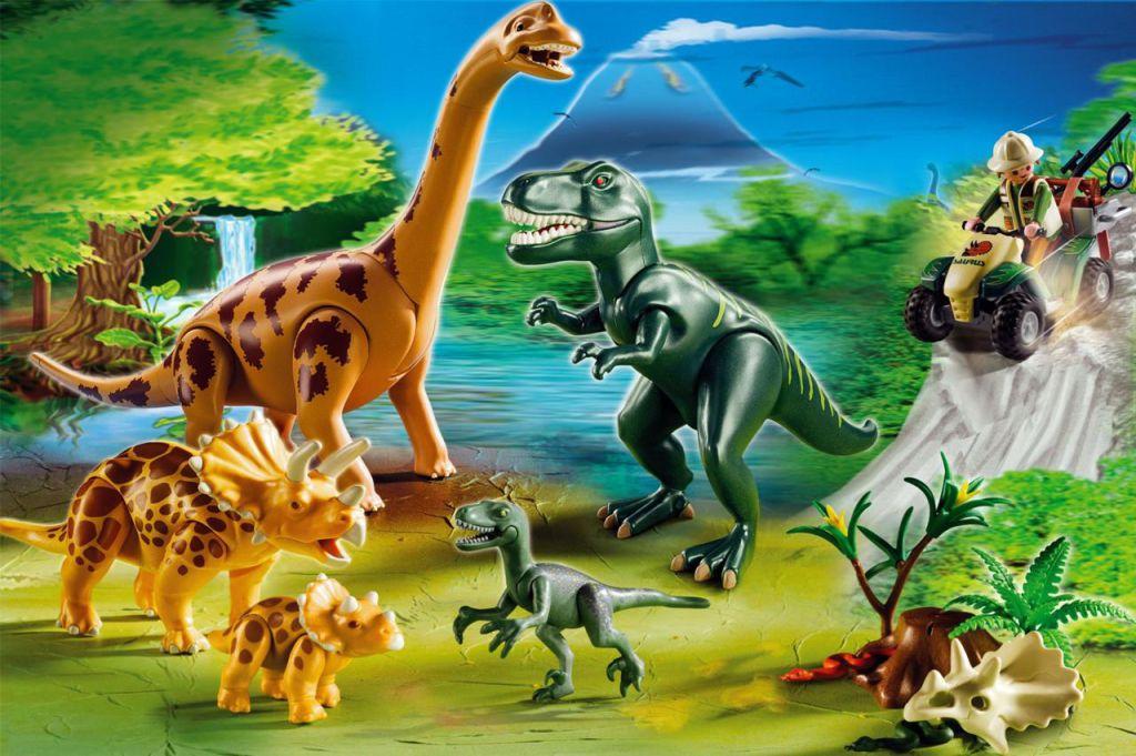 Playmobil set 5014 ger big dinosaurs world klickypedia for Playmobil dinosaurios