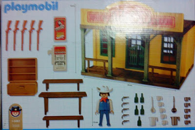 Playmobil 1-3461-ant - Saloon - Back