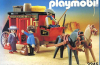 Playmobil - 3245v2 - Red Stagecoach