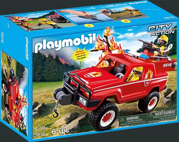 Playmobil Set: 5616-usa - Fire terrain truck - Klickypedia