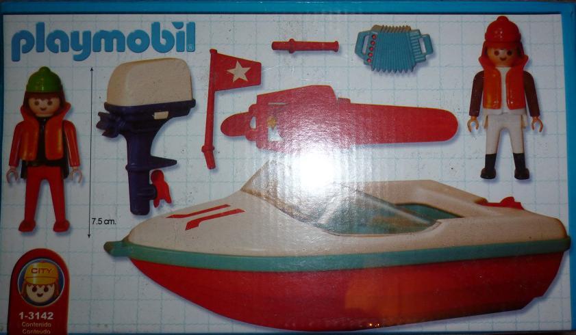 Playmobil 1-3142-ant - boat - Back