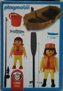 Playmobil 1-9605-ant - Fisherman and Son - Back