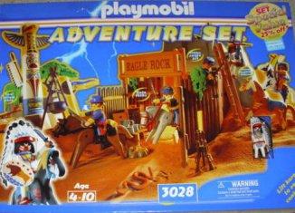 Playmobil - 3028-usa - Adventure set Eagle Rock