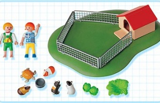 Playmobil - 3210s3 - Children with Guinea Pigs