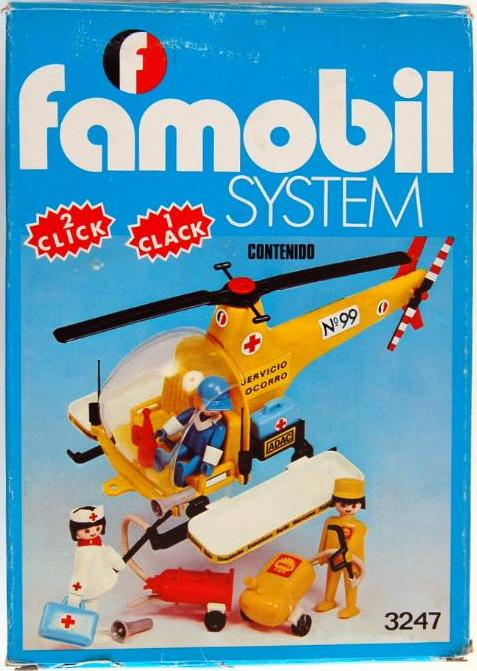 Playmobil set 3247 fam helicoptero klickypedia for Helicoptero playmobil