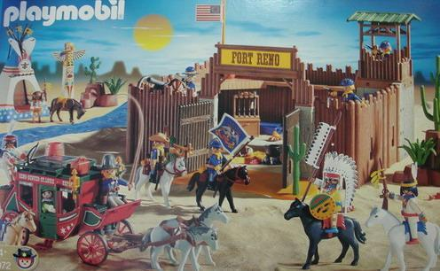 Pin Playmobil Western Fort Images To Pinterest