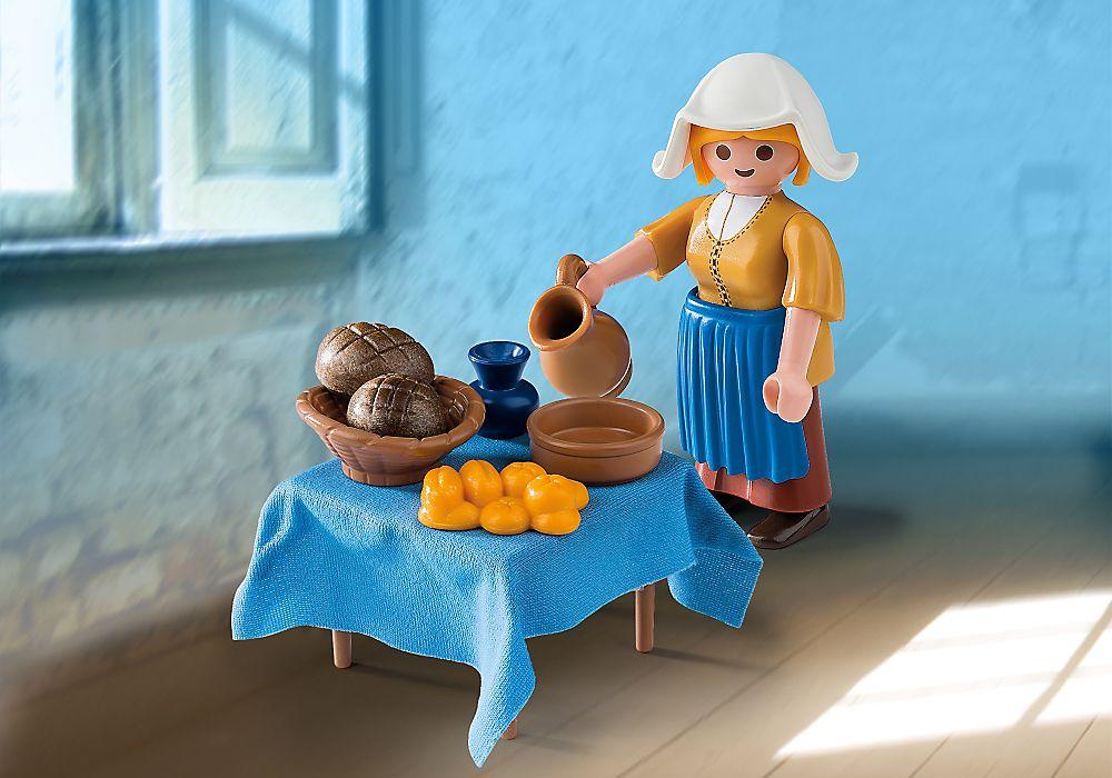 Playmobil set 5067 net the milkmaid from rijksmuseum - La lechera de vermeer ...