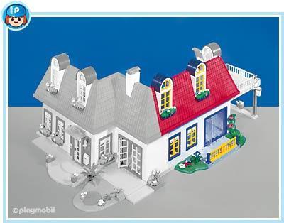 Playmobil set 7338 modern house addition 3 klickypedia for Playmobil modern house 7337