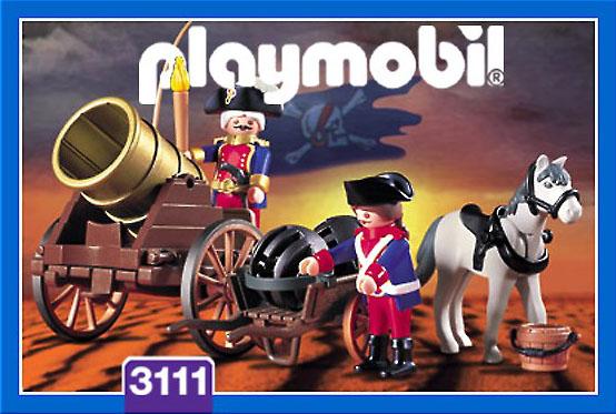 """Playmobil 3111s2 - cannon """"dicke berta"""" - Box"""