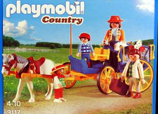 Playmobil - 3117v2 - Horse & Buggy