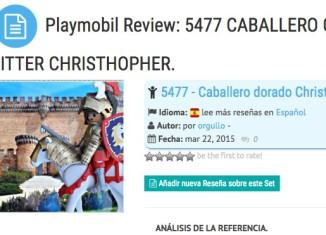 Playmobil - ¿Cómo se hace una reseña?