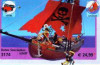 Playmobil - 3174v2 - red pirateship