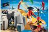 Playmobil - 4139 - pirate island compact set