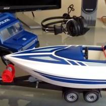 Playmobil - Vehículo Policia con bote.