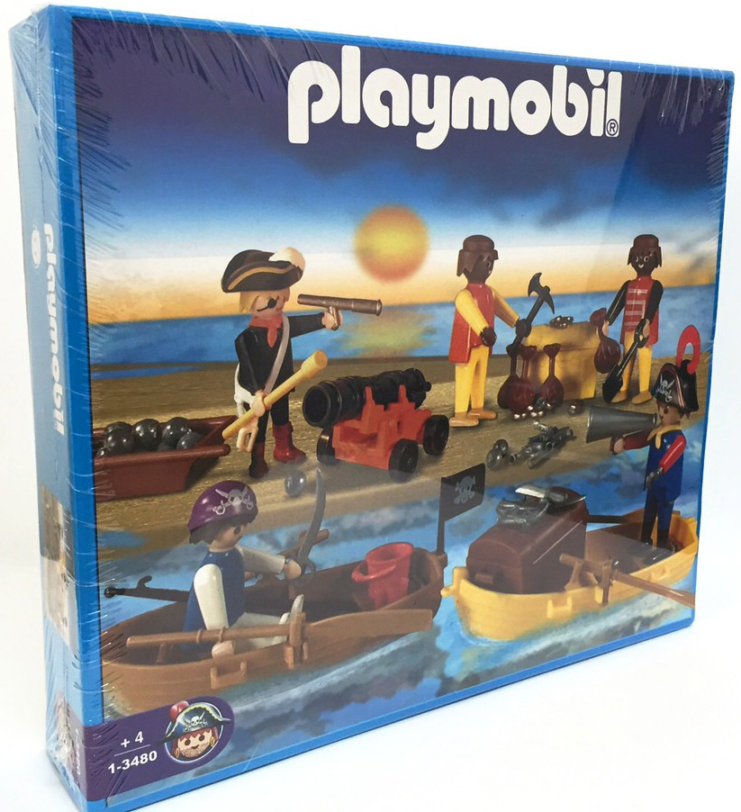 Playmobil 1-3480-ant - Pirate Set - Box