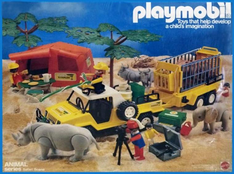 Playmobil Set 9768 Mat Safari Scene Klickypedia
