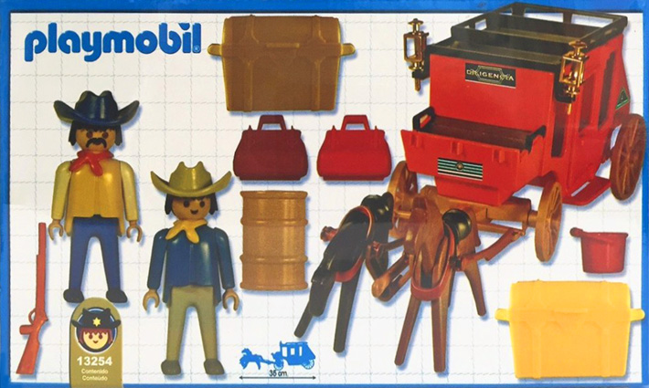 Playmobil 13254-ant - red stage coach - Box