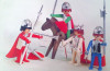 Playmobil - 1711-pla - knights basic set