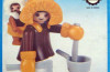 Playmobil - 3911-lyr - Eskimo Mother and Baby