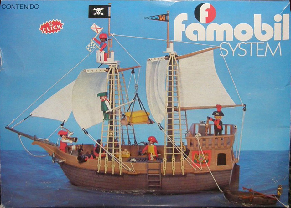 playmobil set 3550 fam pirate ship klickypedia. Black Bedroom Furniture Sets. Home Design Ideas