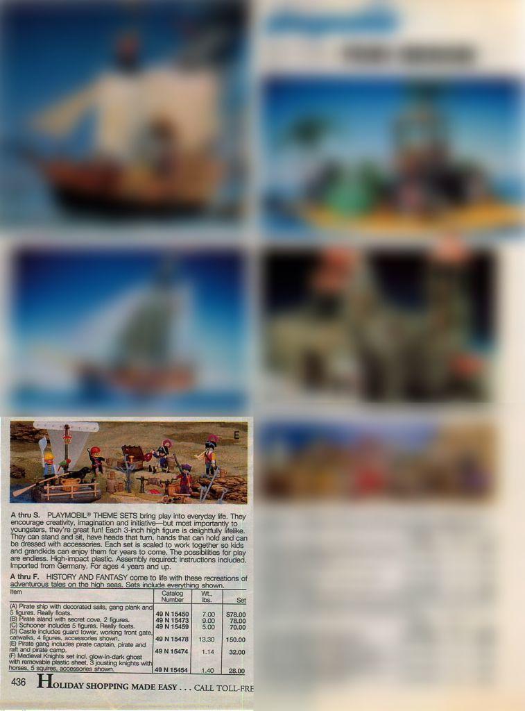 Playmobil 47.N-15474-usa - Pirate Gang - Back