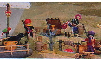Playmobil - 47.N-15474-usa - Pirate Gang