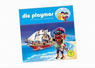 Playmobil - 80128 - The Treasure of Devil's Island (1) - CD