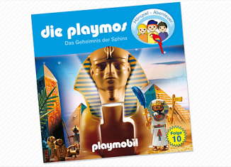 Playmobil - 80188 - The mysterious Sphinx (10) - CD