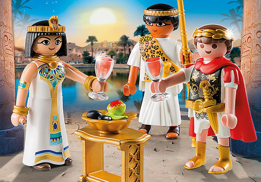 Playmobil set 5394 caesar and cleopatra klickypedia - Playmobil egyptien ...