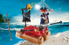 Playmobil - 5655-usa - pirate raft carry case
