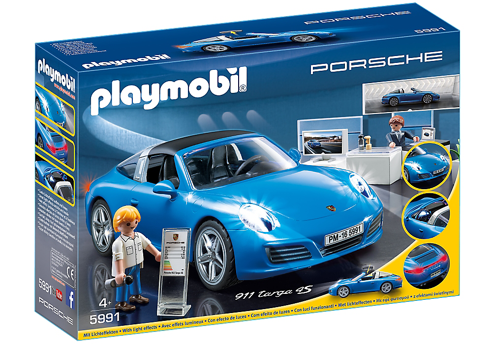 playmobil set 5991 porsche 911 targa 4s klickypedia. Black Bedroom Furniture Sets. Home Design Ideas