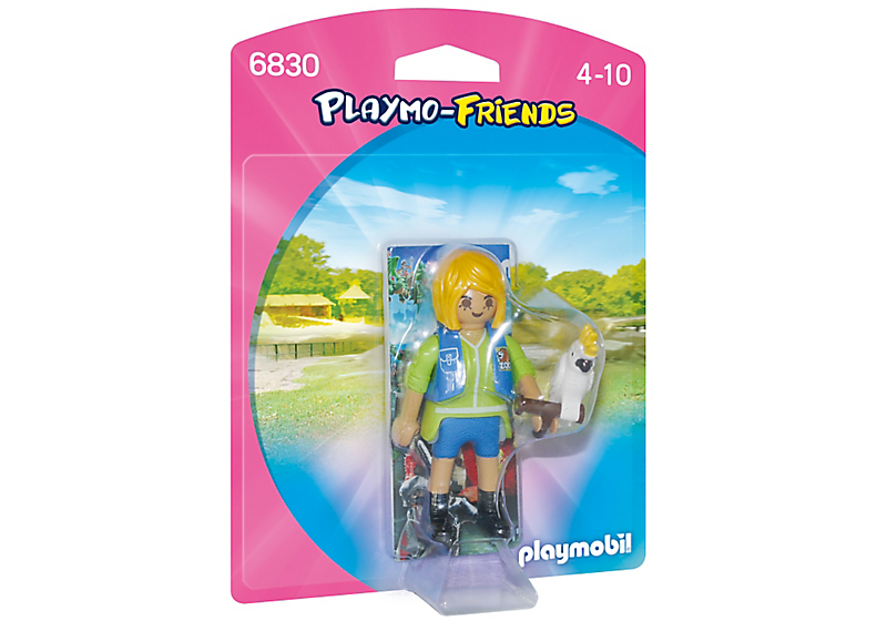 Playmobil 6830 - Birdtrainer with Parrot - Box