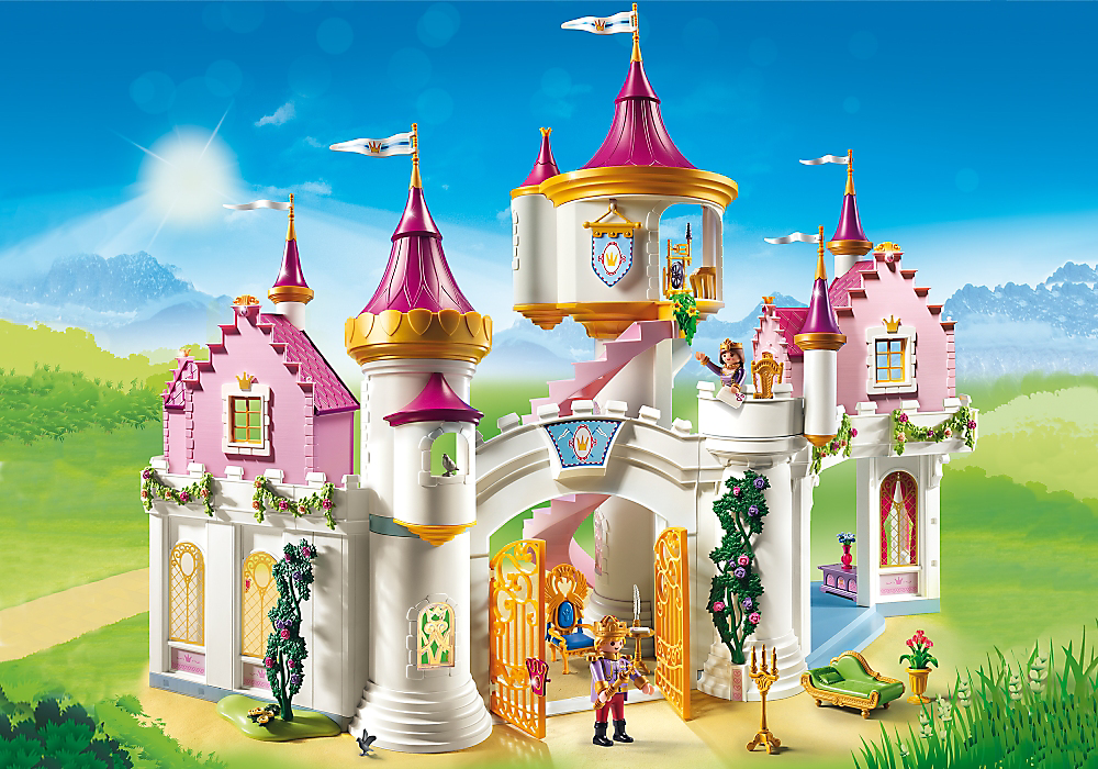Playmobil Set 6848 Grand Palace Of Princesses Klickypedia