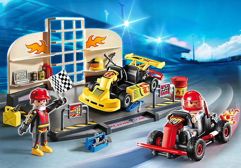 Playmobil Race Car Set