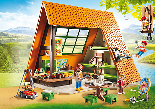 Playmobil set 6887 great holiday camp klickypedia - Toutes les maisons playmobil ...
