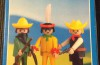 Playmobil - 2009-lyr - Cowboy, mexican and indian