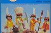 Playmobil - 23.25.1-trol - 5 indians with canoe