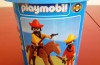 Playmobil - 2111-lyr - Mexicans with Horse