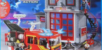Playmobil - 9052-ger - Station and fire truck