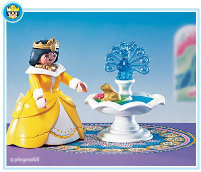 Playmobil Set: 3033 - Princess with Magic Fountain ...