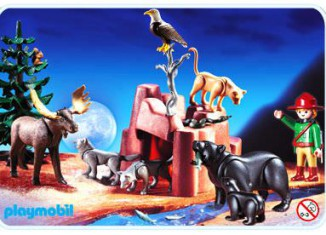 Playmobil - 3228s2 - Wild Animals