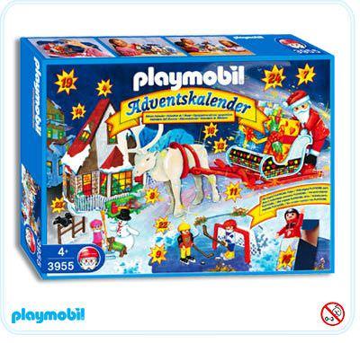 playmobil set 3955s2 advent calendar v santa claus. Black Bedroom Furniture Sets. Home Design Ideas