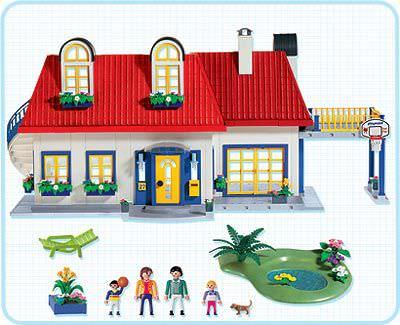 Playmobil set 3965 house klickypedia for Casa moderna 123 playmobil