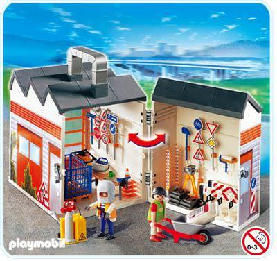 Playmobil Take Along Horse Stable Playmobil 4043 Take Along